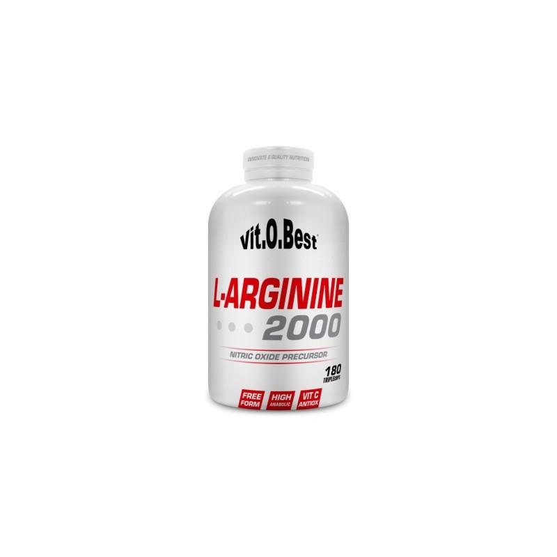 L-ARGININE 2000 - 180 TripleCaps.
