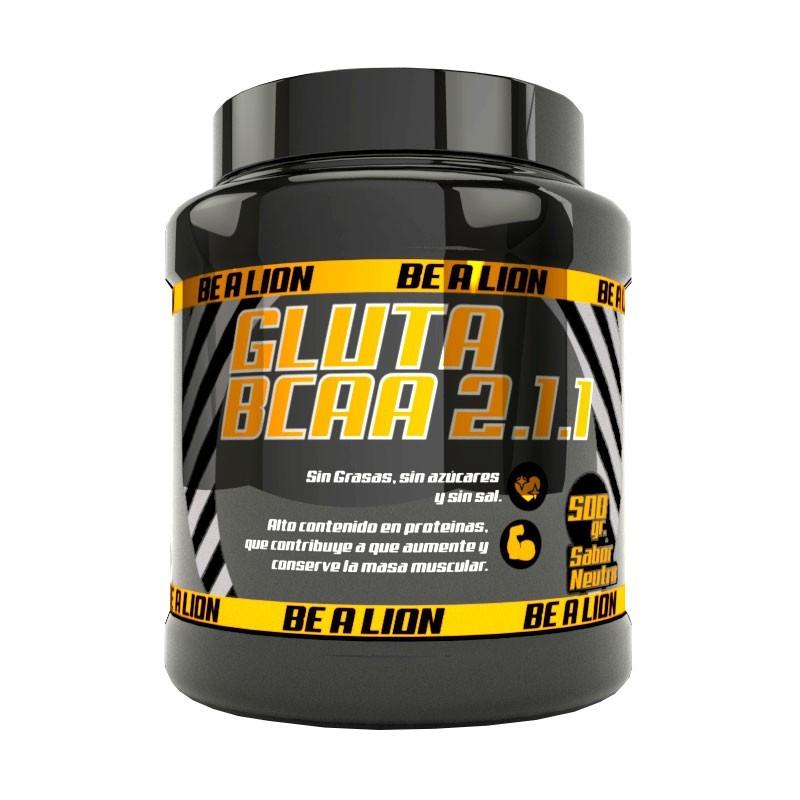 BE A LION GLUTA BCAA 2.1.1 500 gr