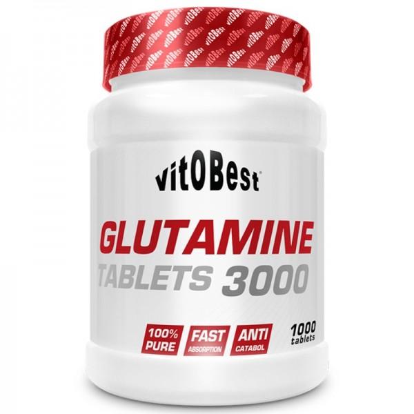 Glutamine 3000 Tablets 1000 tablets