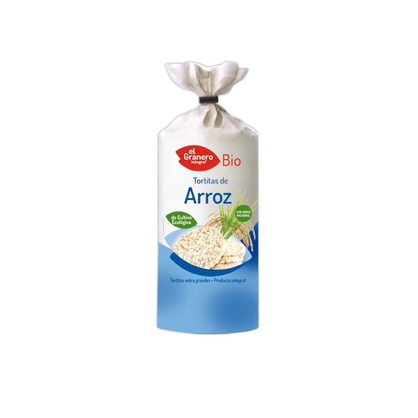 TORTITAS DE ARROZ BIO, 115 g