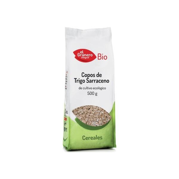 COPOS DE TRIGO SARRACENO BIO, 500 g