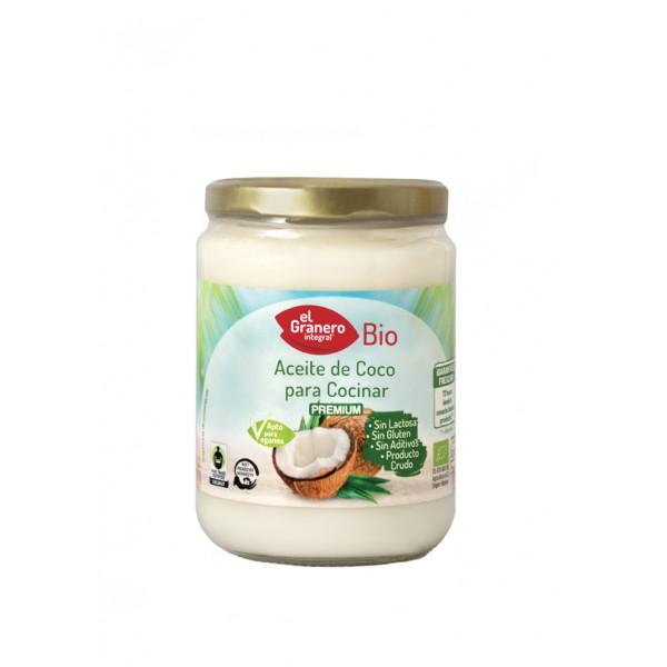 ACEITE DE COCO PARA COCINAR BIO, 500 ml