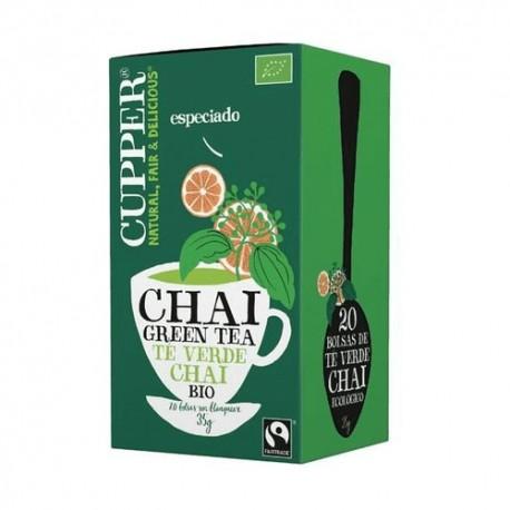 CHAI GREEN TEA BIO 20 BOLSAS