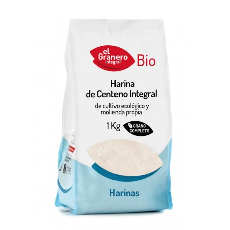 Harina de Centeno Integral Bio, 1 Kg