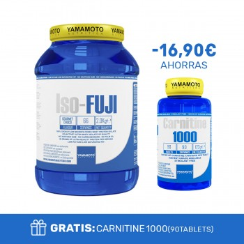 ISO-FUJI® 2 Kg + CARNITINE 1000 90 Tablets de regalo