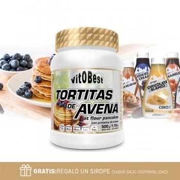 TORTITAS DE AVENA 500 Gr +...