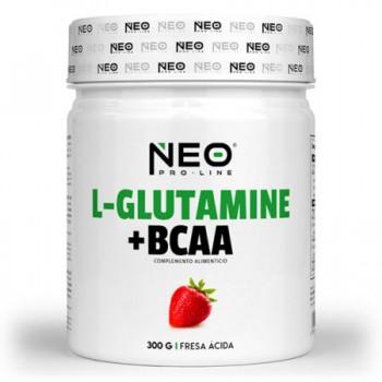 L-GLUTAMINE & BCAA 300 g