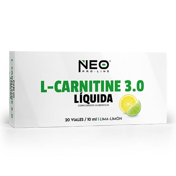 L-CARNITINE 3.0  20 VIALES-10 ml